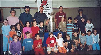 Martin Brodeur Helps Children Get Equal Access To Both Parents