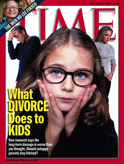Time Magazine's - Children Affected By Divorce